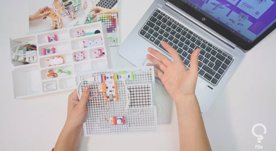 Come utilizzare littleBits Code Kit