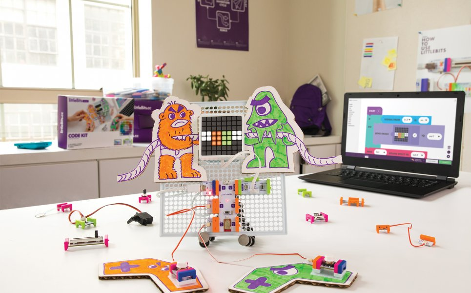 Esperienza con littleBits Code Kit
