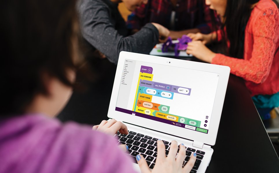 App per programmare littleBits Code Kit