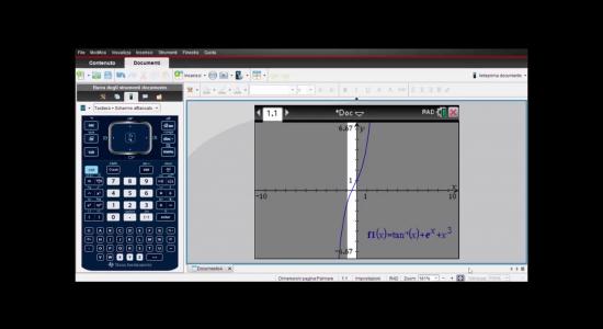 La calcolatrice grafica alla seconda prova – Dimostrare che un'equazione ha una sola soluzione reale