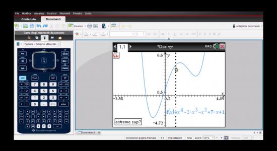 La calcolatrice grafica alla seconda prova – Massimi e minimi di una funzione con la calcolatrice grafica