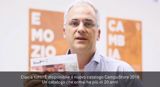 Nuovo catalogo CampuStore 2019