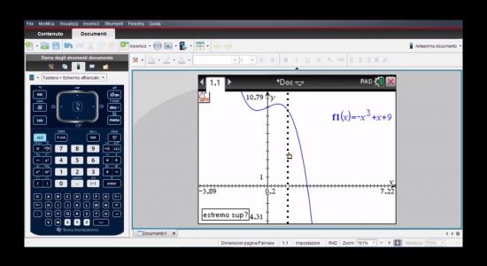 La calcolatrice grafica alla seconda prova – Zeri di una funzione con la calcolatrice grafica