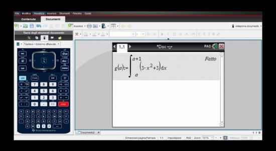 Calcolatrice Grafica : Esempio di Quesito di Maturità Risolto