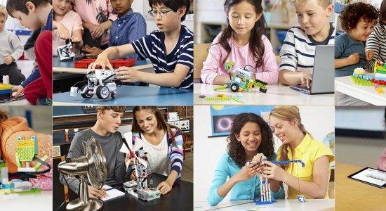 Ambienti di apprendimento innovativi con LEGO Education