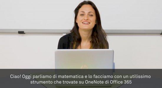 Gli strumenti per la matematica su OneNote