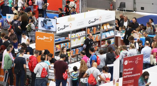 CampuStore torna a Maker Faire Rome dal 18 al 20 ottobre a Roma