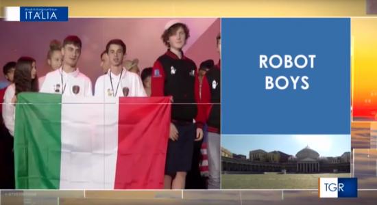 L'IIS Volta di Pescara al TGR Mezzogiorno Italia con robotica educativa e intelligenza artificiale