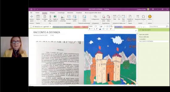 Lettura e Scrittura creativa con OneNote