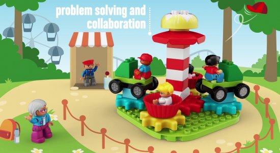 LEGO Education STEAM Park: ingranaggi e rotazioni sviluppando problem-solving e collaborazione