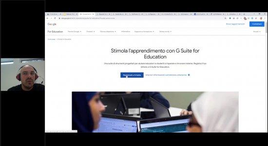 Didattica a distanza con G Suite for Education: come attivare operativamente la G Suite a scuola