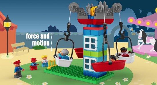 LEGO Education STEAM Park: studiare galleggiamento, forza e moto
