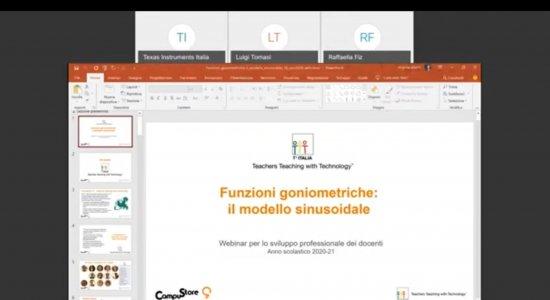 Funzioni goniometriche: il modello sinusoidale con la calcolatrice grafica