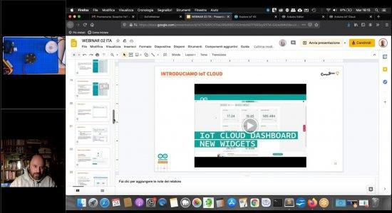 Scoprire l'IoT a scuola e da casa con Arduino Explore IoT Kit – Terzo incontro
