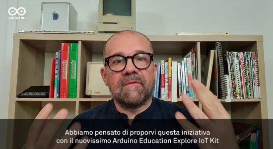 Massimo Banzi annuncia la sperimentazione sul nuovo Arduino Explore IoT Kit