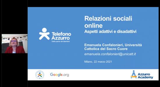 Relazioni online e consenso