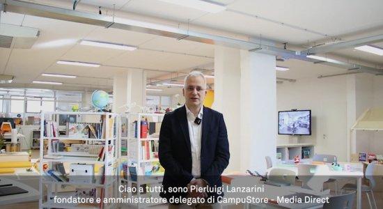 Pierluigi Lanzarini presenta tutte le novità di CampuStore a Didacta 2021
