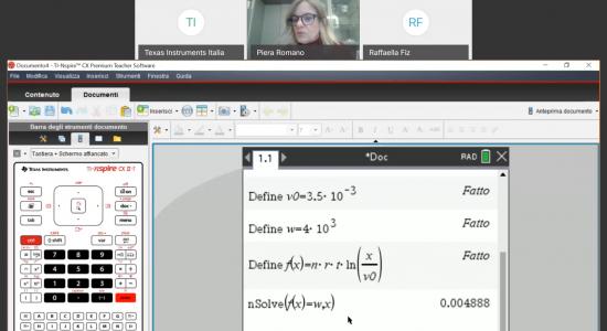 Logaritmo: funzioni ed equazioni – Problemi vari con la calcolatrice grafica