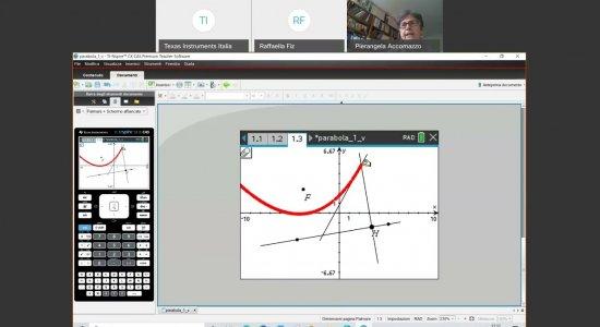 Coniche: dalla costruzione alla rappresentazione algebrica