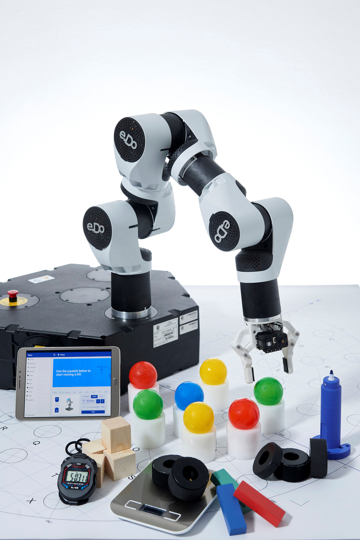 edo braccio robotico educativo