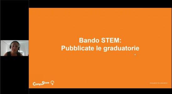 Bando STEM: uscite le graduatorie. Cosa fare?
