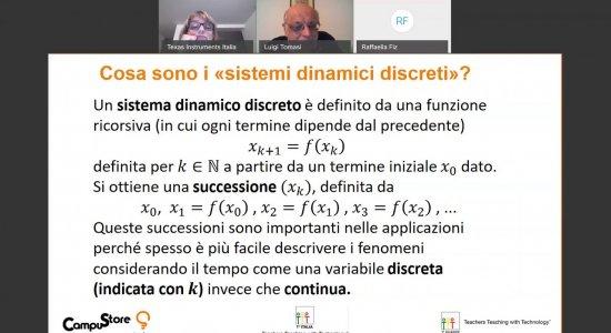 Sistemi dinamici discreti con la calcolatrice grafica
