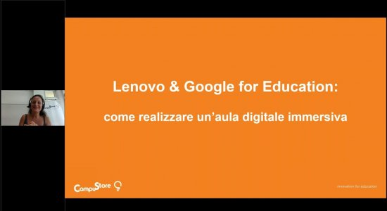 Lenovo & Google for Education: come realizzare un'aula digitale immersiva