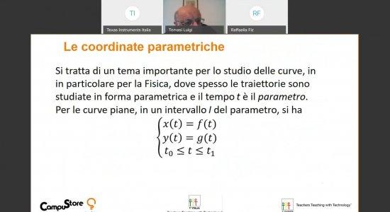 Studio di una curva in coordinate parametriche