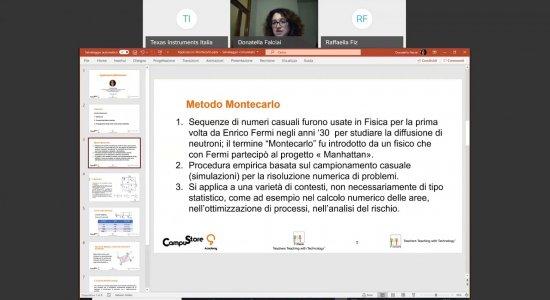 Applicazioni del metodo Montecarlo con la calcolatrice grafica