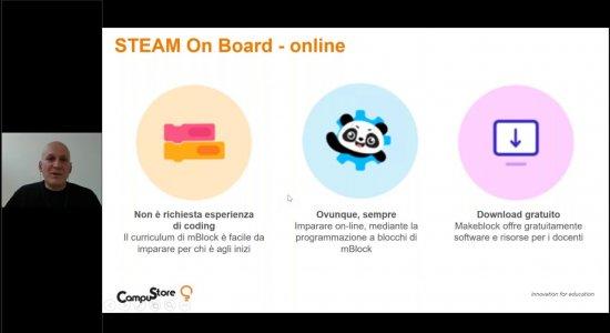 STEAM On Board: fare coding a distanza con mBlock e Google Classroom