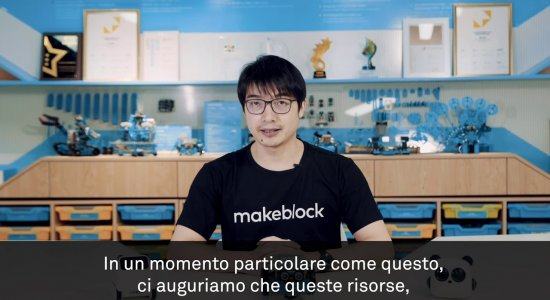 STEAM On Board: Jasen Wang, fondatore di Makeblock, presenta la piattaforma per coding a distanza