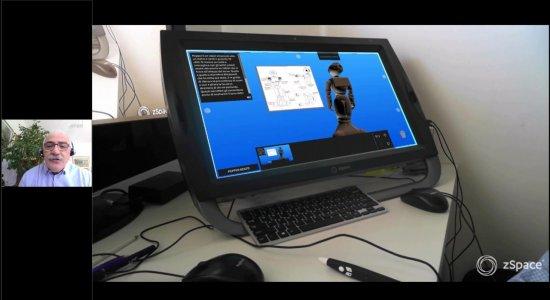 Realtà olografica per attivita di DaD con robotica e coding: pillole per attività STEAM