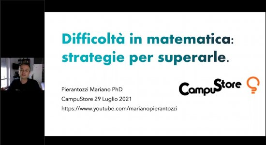 Difficoltà in matematica: strategie per superarle con il Prof. Mariano Pierantozzi
