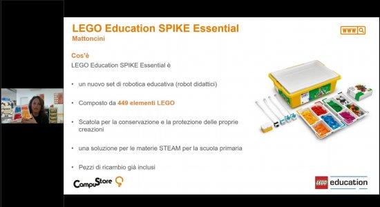LEGO Education SPIKE Essential e CampuStore: scopriamo in anteprima il nuovo supporto per le STEM